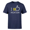 I Like Aviation Designed T-Shirts