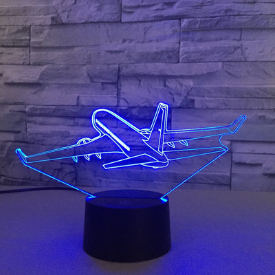 Cruising Boeing 737 Designed 3D Lamp
