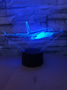 Face to Face with Amazing Boeing 737 Designed 3D Lamp