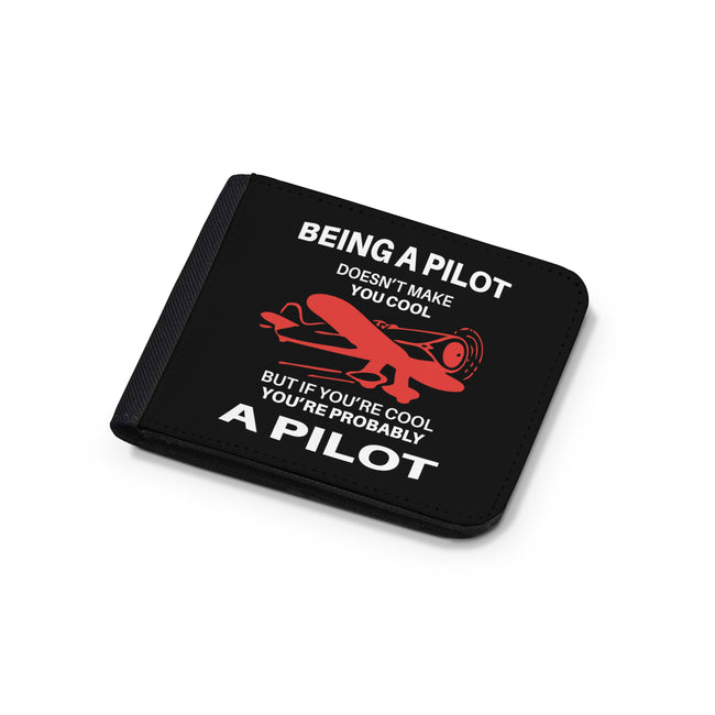 If You're Cool You're Probably a Pilot Designed Wallets