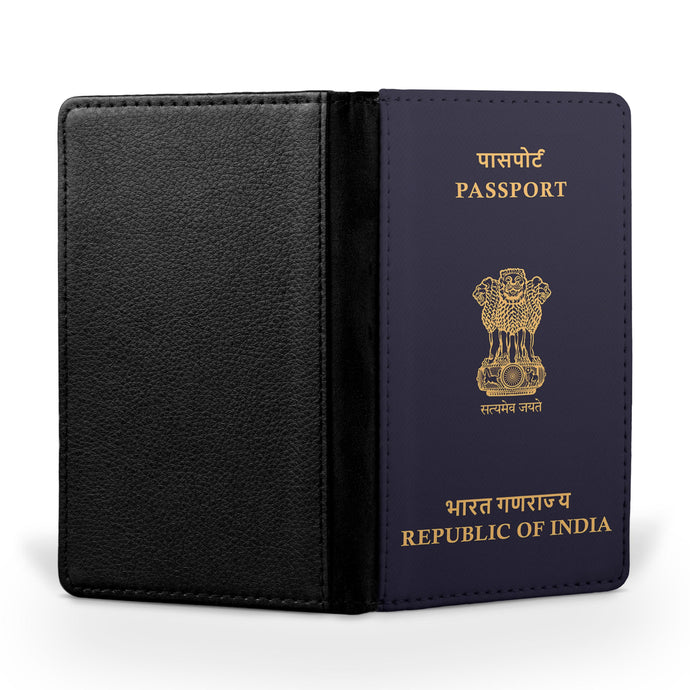 Indian Passport Designed Passport & Travel Cases