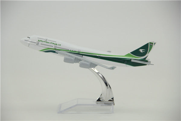 Iraqi Airways Airbus A380 Airplane Model (16CM)