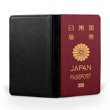 Japan Passport Designed Passport & Travel Cases