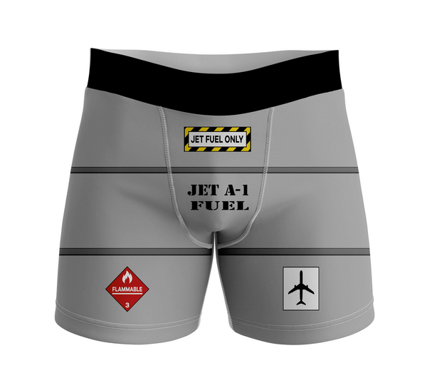 Jet Fuel Only Designed Men Boxers