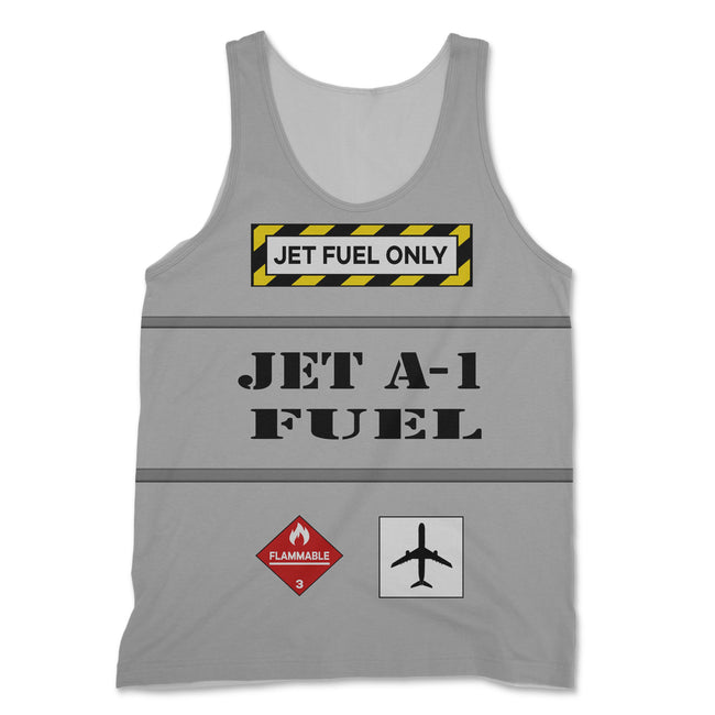 Jet Fuel Only Designed 3D Tank Tops