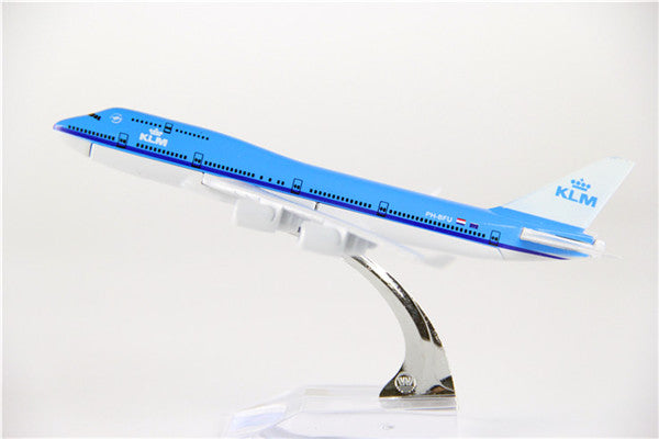 KLM Boeing 747 Airplane Model (16CM)