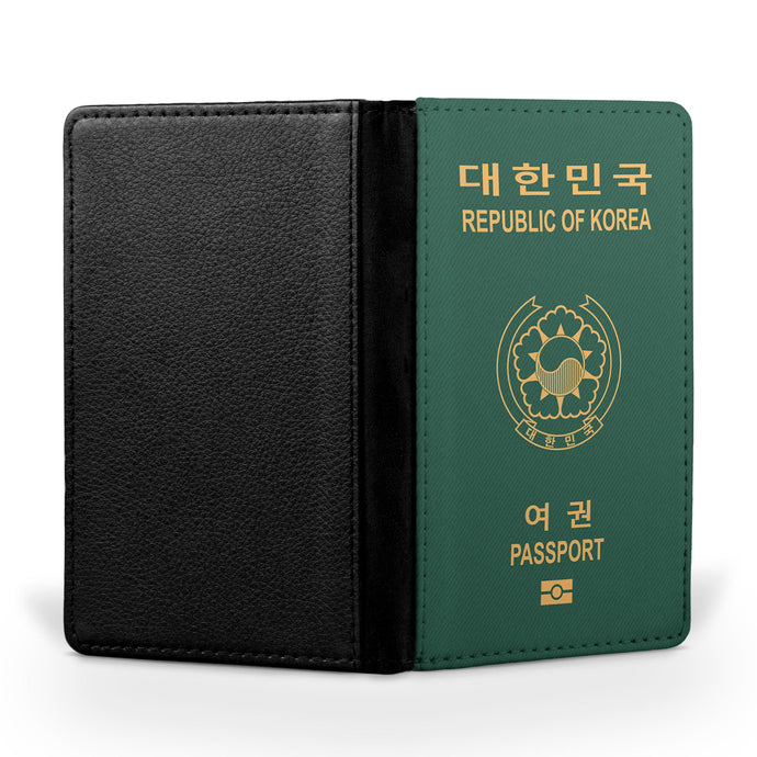 Korean Passport Designed Passport & Travel Cases