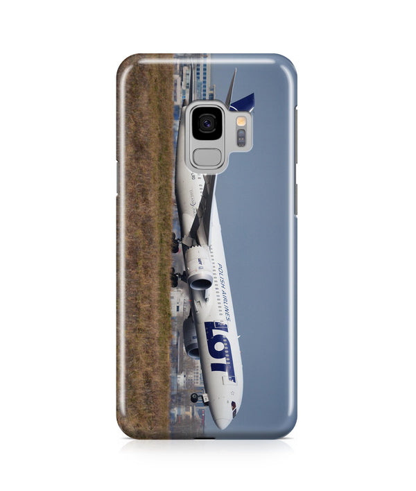 LOT Polish Airlines Boeing 787 Printed Samsung J Cases