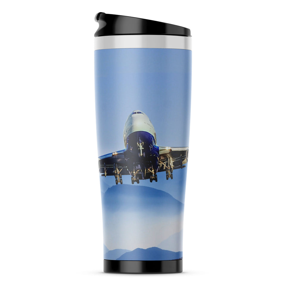 Landing Boeing 747 From Front Printed iPhone Cases