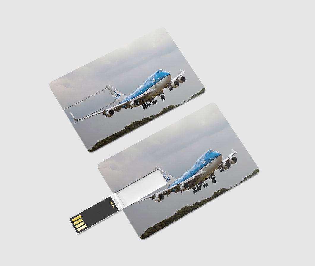 Landing KLM's Boeing 747 Printed iPhone Cases