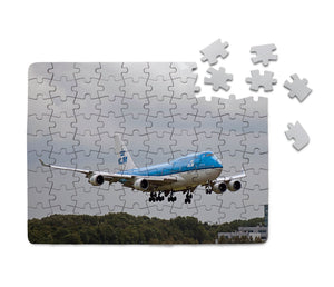 Landing KLM's Boeing 747 Printed Puzzles Aviation Shop