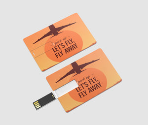 Let's Fly Away Printed iPhone Cases