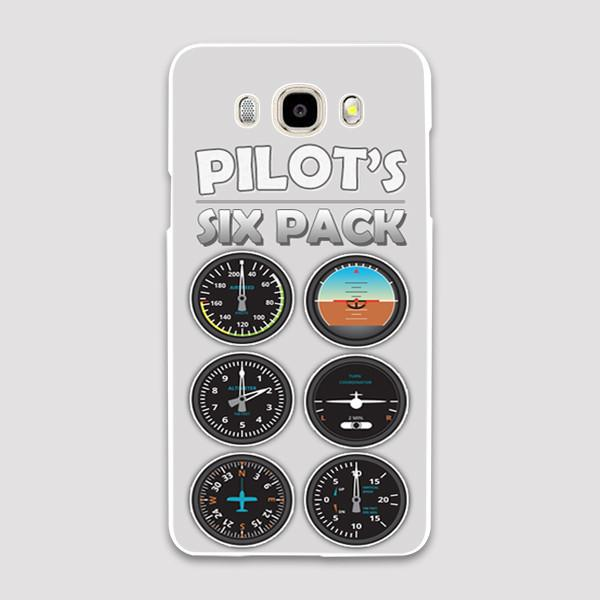 Pilot's Six Pack Designed Samsung J & C Cases
