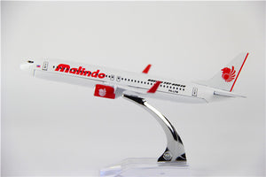 Lion Air Boeing 737 Airplane Model (16CM)