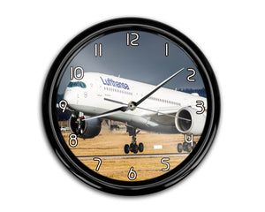 Lufthansa's A350 Printed Wall Clocks Aviation Shop