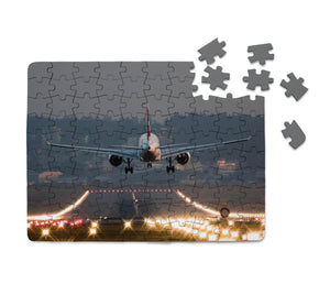 Magnificent Airplane Landing Printed Puzzles Aviation Shop