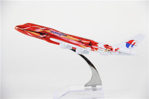 Malaysia Airways Boeing 747 (Colourful Livery) Airplane Model (16CM)