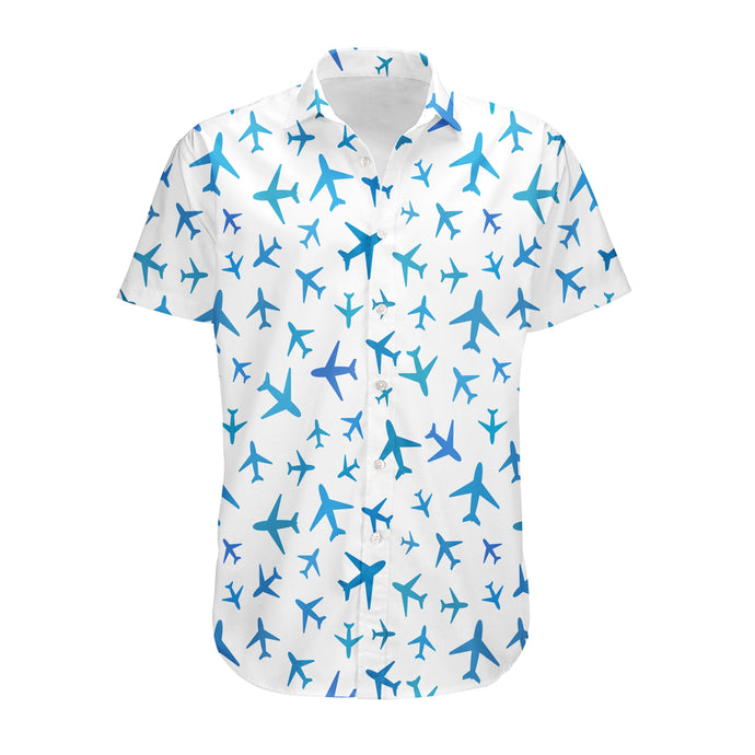 Many Airplanes Designed 3D Shirts