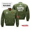 McDonnell Douglas MD-11 Silhouette & Designed Pilot Jackets (Customizable)