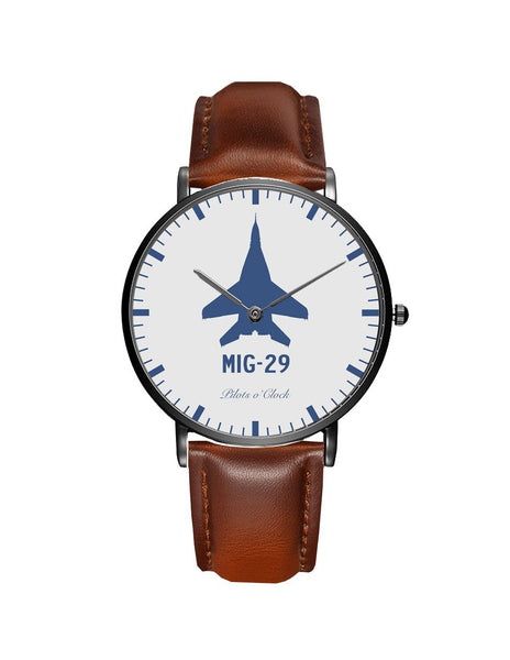 Mikoyan MIG-29 Leather Strap Watches