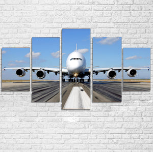Mighty Airbus A380 Multiple Canvas Poster