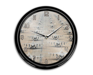 Military Jets Printed Wall Clocks Aviation Shop