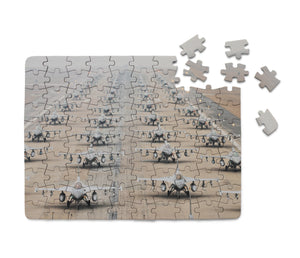 Military Jets Printed Puzzles Aviation Shop