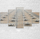 Military Jets Printed Multiple Canvas Poster