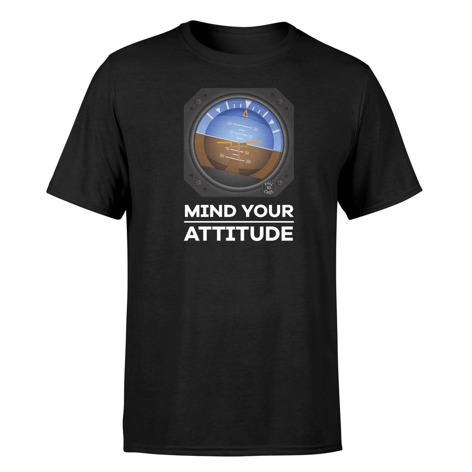 Mind Your Attitude Designed T-Shirts