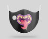 "Monster Mouth ""6"" Designed Face Masks"