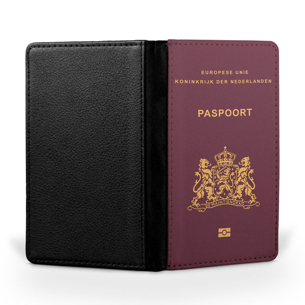 Netherlands Passport Designed Passport & Travel Cases