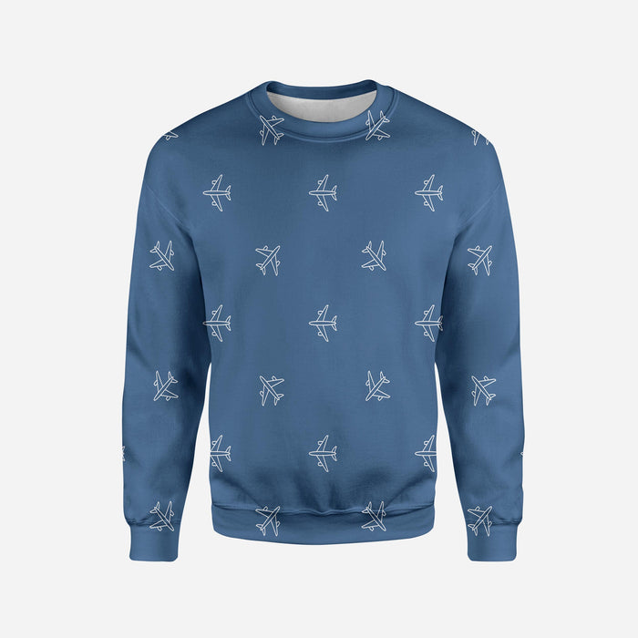 Nice Airplanes Printed 3D Sweatshirts