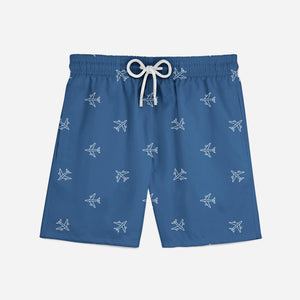 Nice Airplanes Designed Swim Trunks