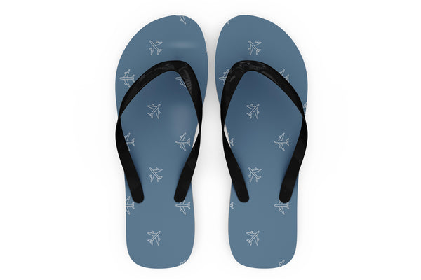 Nice Airplanes Designed Slippers (Flip Flops)