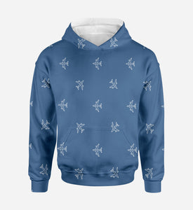 Nice Airplanes Printed 3D Hoodies