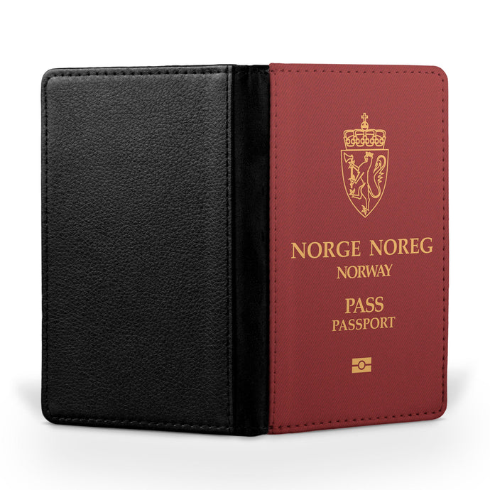 Norway Passport Designed Passport & Travel Cases