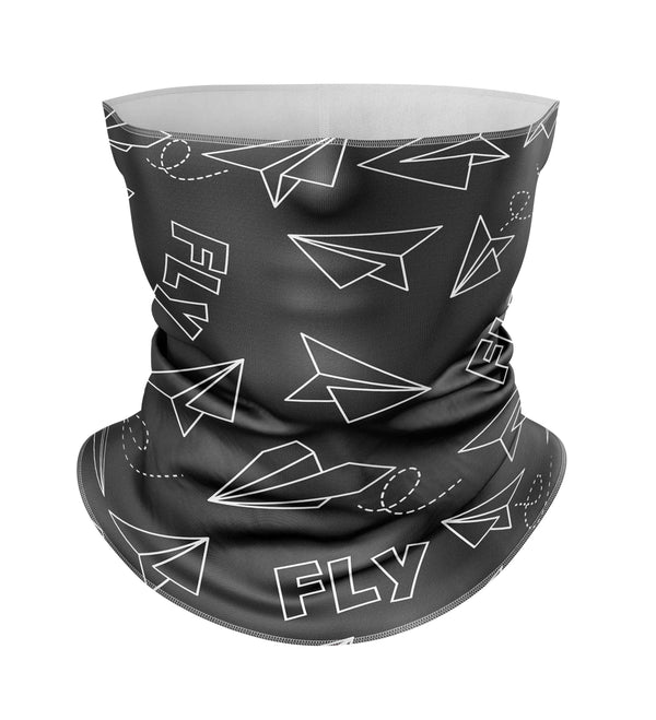 Paper Airplane & Fly Designed Full Face & Ski Masks