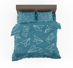 Paper Airplane & Fly Designed Bedding Sets