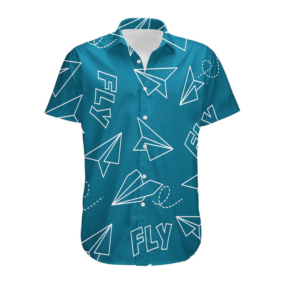 Paper Airplane & Fly Designed 3D Shirts