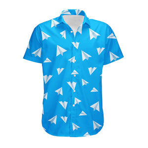 Paper Airplanes Designed 3D Shirts