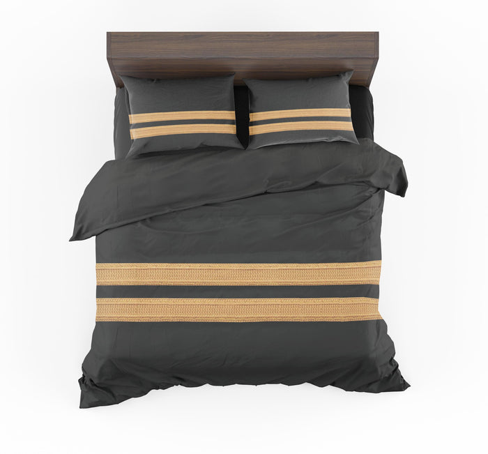 Pilot Epaulette 2 Lines Designed Bedding Sets