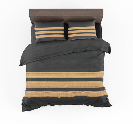 Pilot Epaulette 3 Lines Designed Bedding Sets