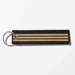 Pilot Epaulette (4,3,2 Lines) Designed Key Chains