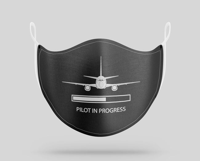 Pilot In Progress Designed Face Masks