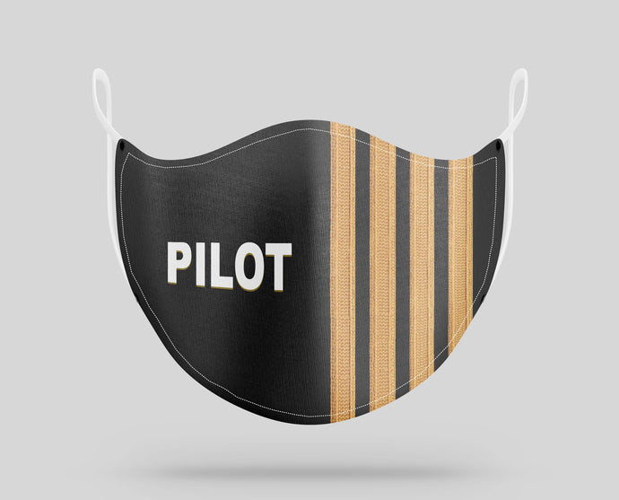 Special Edition Pilot & Stripes Designed Face Masks