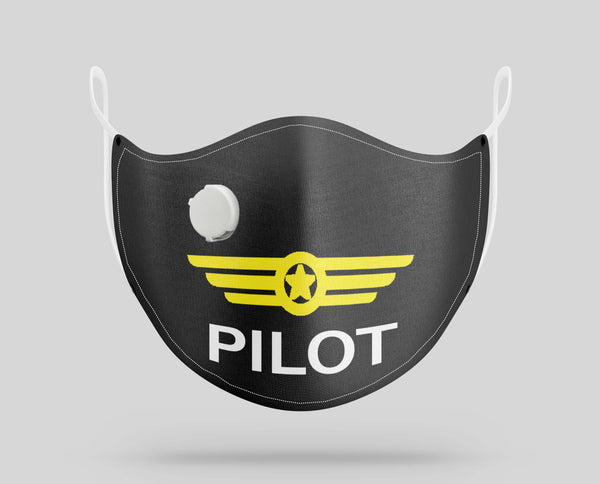 Pilot & Badge Designed Face Masks