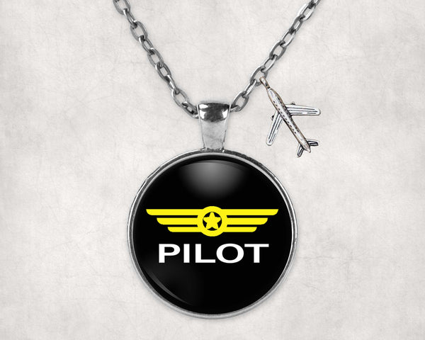 Pilot & Badge Designed Necklaces