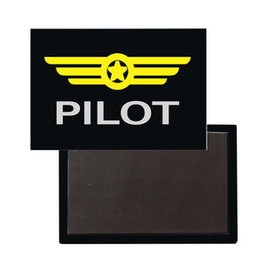 Pilot & Badge Designed Magnet Pilot Eyes Store