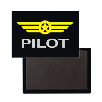 Pilot & Badge Designed Magnet