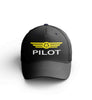 Customizable Name & Pilot Badge Embroidered Hats